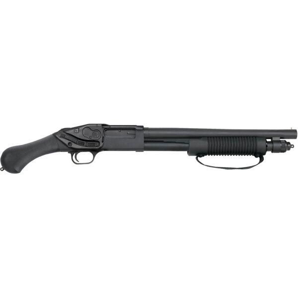 Mossberg 590 Shockwave 12 Gauge Pump-Action Shotgun with Crimson Trace Laser Saddle